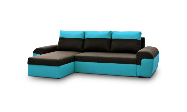 Moderná sedacia súprava Moreton, Modrá
