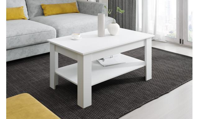 Moderný konferenčný stôl Vareza, biely