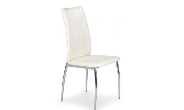 Jedálenská stolička H596, biela