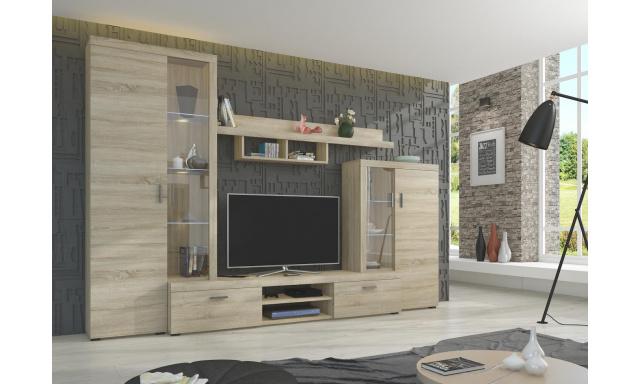 Moderná obývacia stena Asolo, sonoma