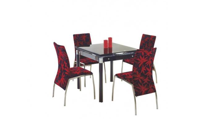 Jedálenský stôl H28, čierny