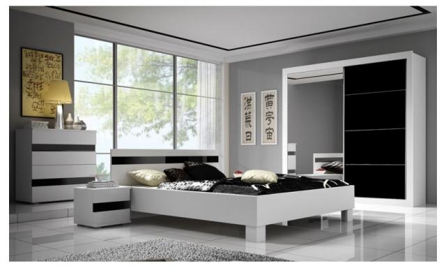 Luxusná spálne Lumia, vysoký lesk!