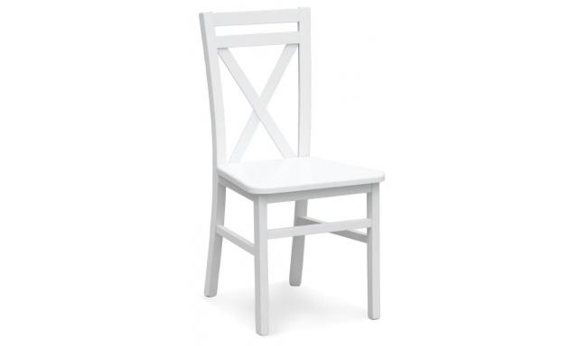 Jedálenská stolička Derek, biela