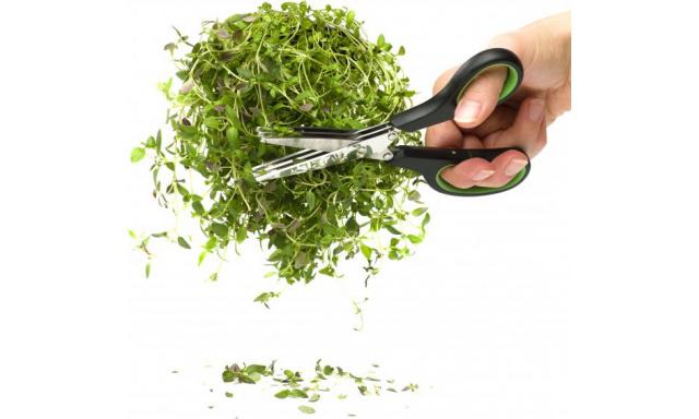Trojbřité nožnice na bylinky SAGAFORM Herbs