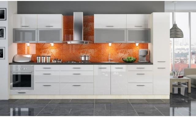 Luxusné kuchynská linka Platinum P, vysoký lesk!