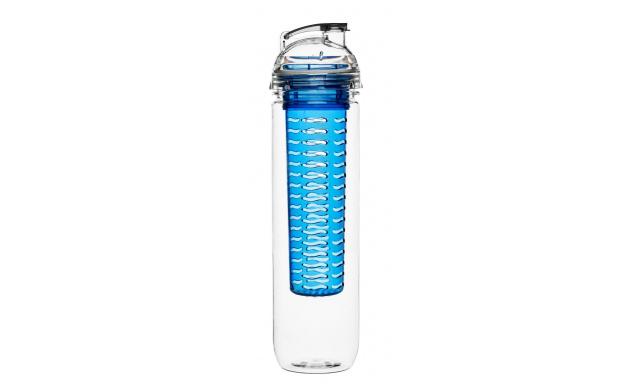 Fľaša s difuzérom SAGAFORM Fresh, 800ml, modrá