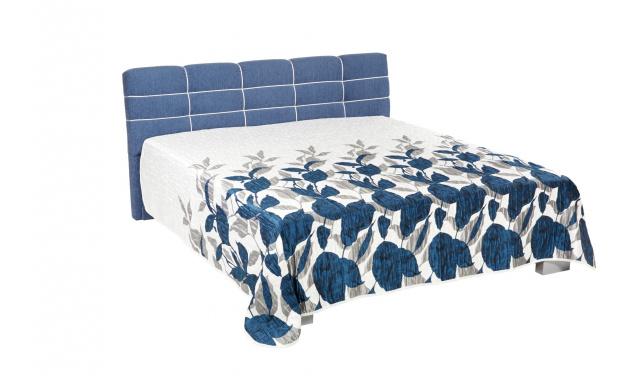 Kvalitná čalúnená posteľ Lena 160x200cm