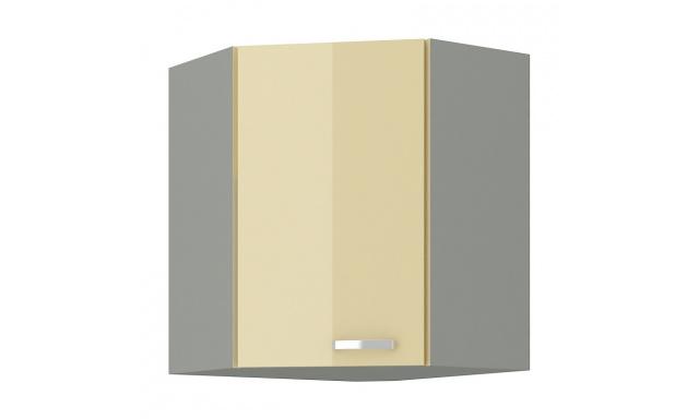 Carpos horná skrinka 60cm - rohová