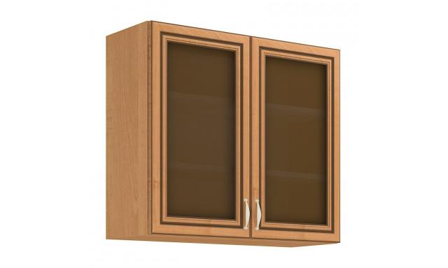 KARA horná skrinka 80cm - vitrína