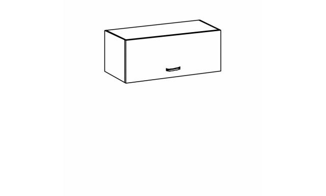 REVAL horná skrinka 80cm - nízka