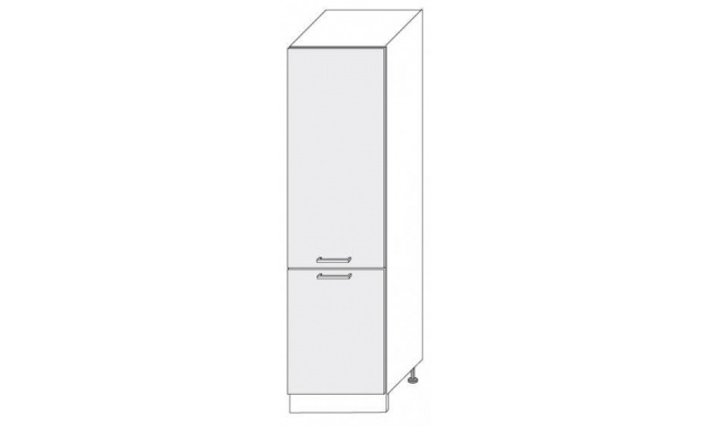 PLATINUM dolná skrinka 60cm 14DL / 60 lednicová
