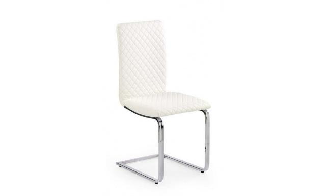Jedálenská stolička H593, biela