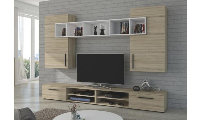 Moderná obývacia stena Brela, sonoma