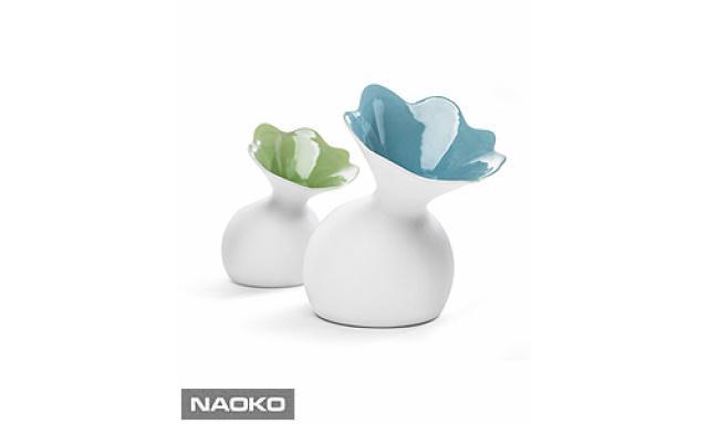 Váza SAGAFORM Lily, modrá, veľká