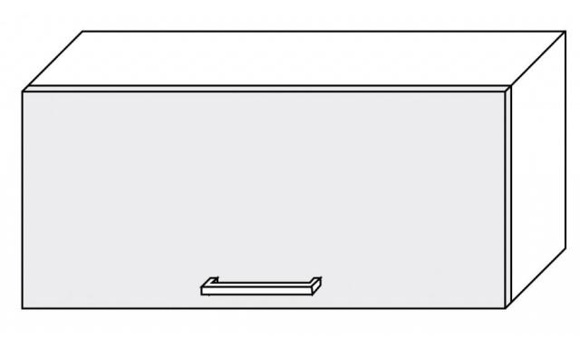 PLATINUM horná skrinka 80cm W4b / 80