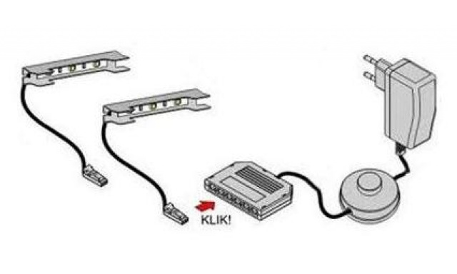 LED pásik 6cm