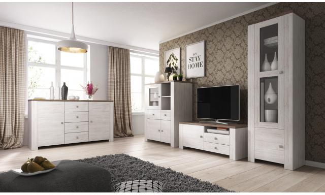 Štýlový obývacia izba Norman