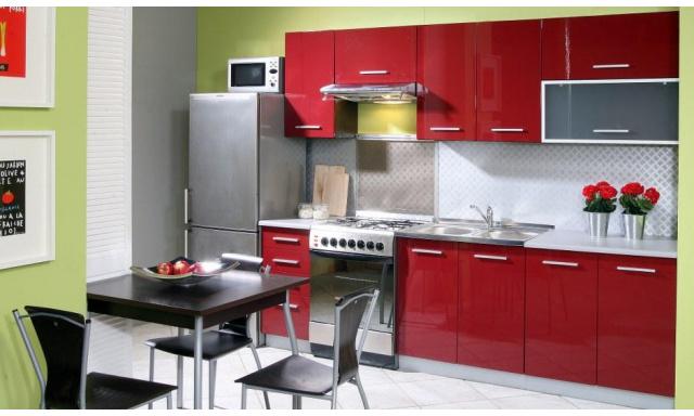 Luxusná kuchynská linka Platinum A, vysoký lesk!
