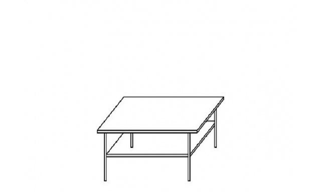 Konferenční stůl Ambala 9 / švestka / grafit