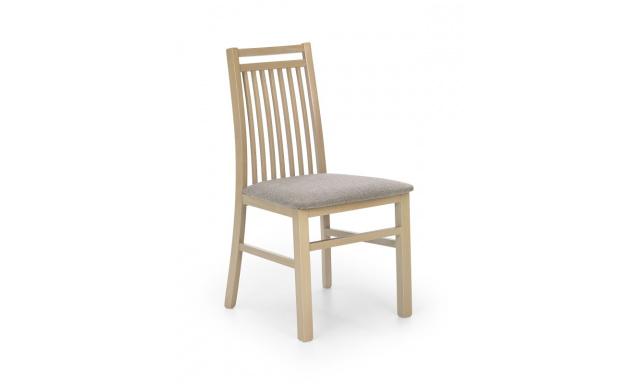 Drevená jedálenská stolička H8006, sonoma / sivá