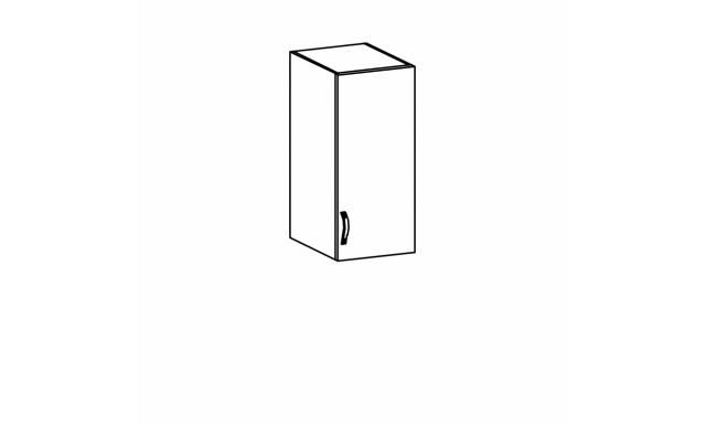 SYCILIE horná skrinka 30cm, pravá