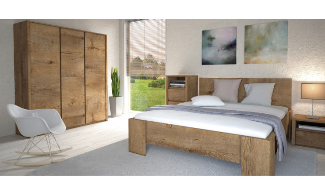 Moderná lacná spálňa Monte