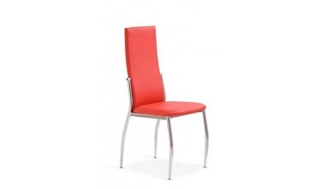 Jedálenská stolička H503 červená
