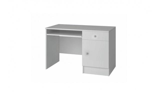 PC stůl Domino 08,bílý