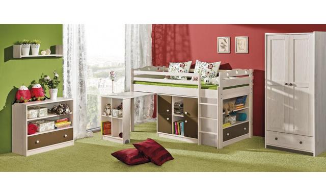 Detská posteľ Kama, masív