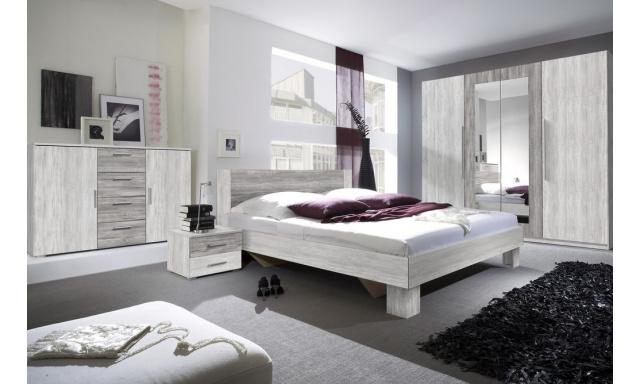 Spálňa Veronika s postelí 180cm, borovice canyon