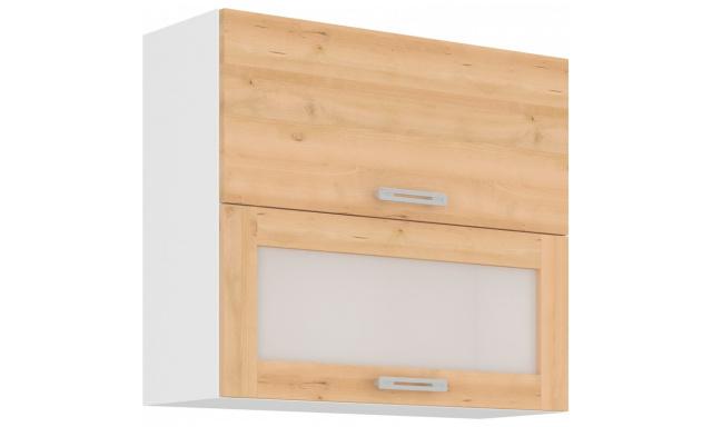 ICON horná skrinka 80cm - vitrína