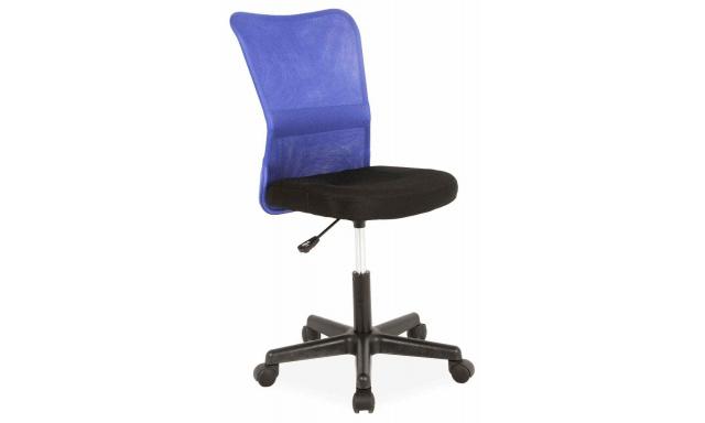 Dětská židle k psacímu stolu Sig394, modrá
