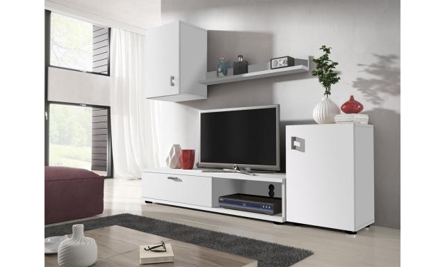 Moderná obývacia stena Linda, biela