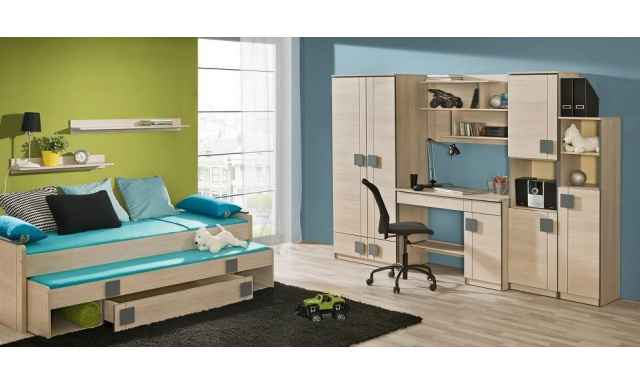 Detská izba s posteľou Fumi H