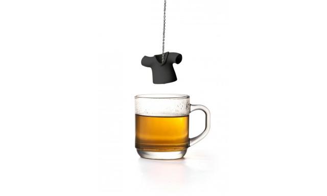 Čajové sitko Qual Tea Shirt, čierne
