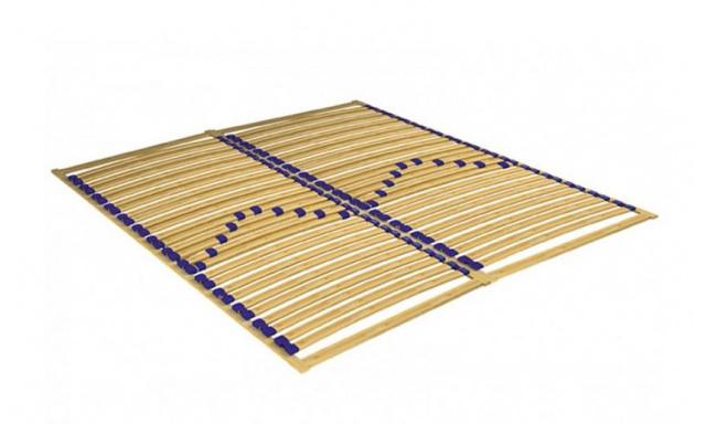 Rámový rošt s matrací, 160x200cm