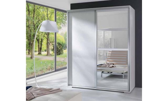 Moderná skřín Leona, biela