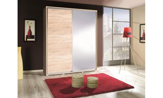 Moderná skřín Lopa 155 so zrkadlom