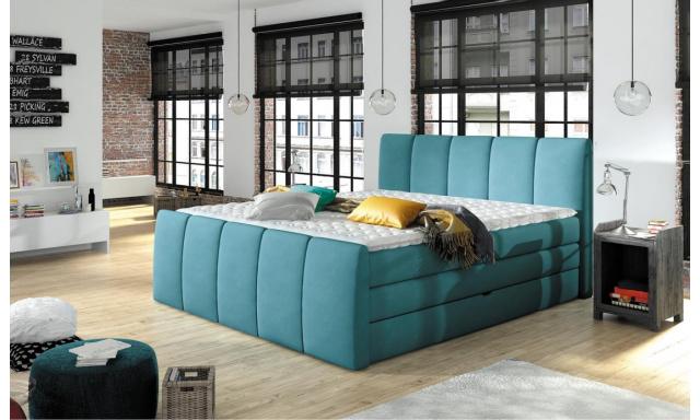 Luxusná box spring posteľ Form 160x200