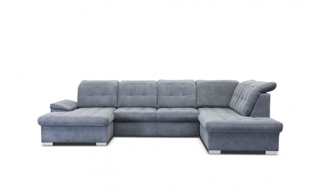 Kvalitná sedacia súprava tvaru U Nicolette