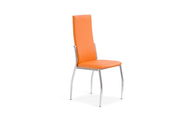 Jedálenská stolička H503 oranžová