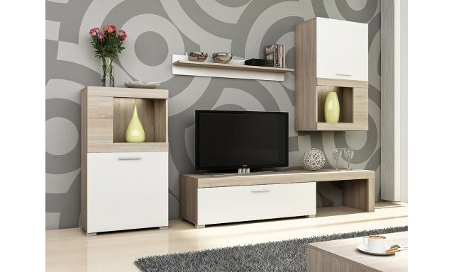 Lacná moderná obývacia stena Kolk