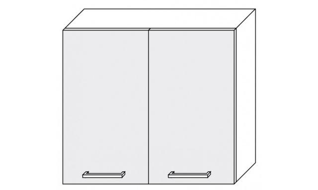 PLATINUM horná skrinka 80cm W3 / 80