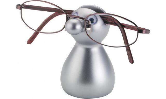 Stojanček na okuliare Balvu Guido, strieborný