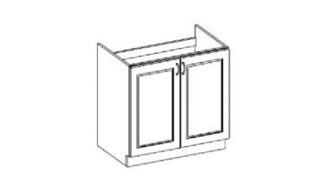 Carpos dolná skrinka 80cm - drezová