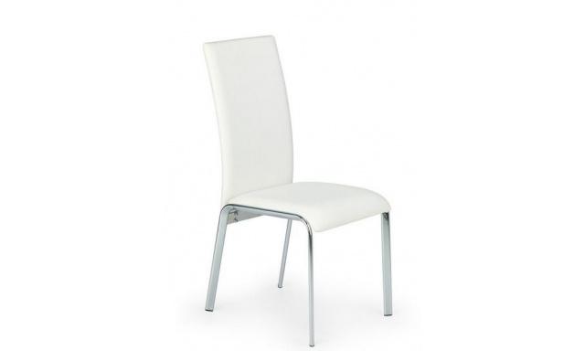 Jedálenská stolička H598, biela