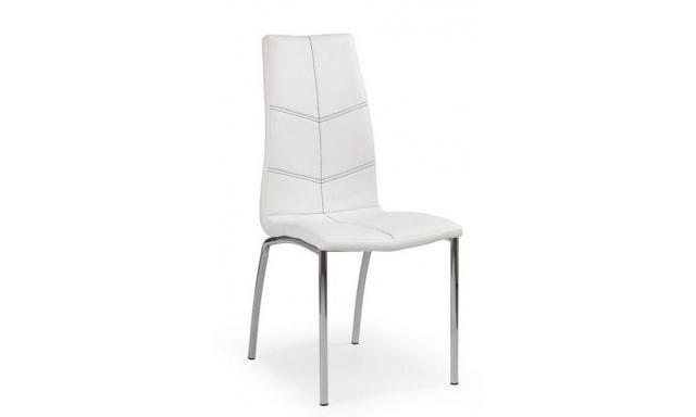 Jedálenská stolička H585, biela