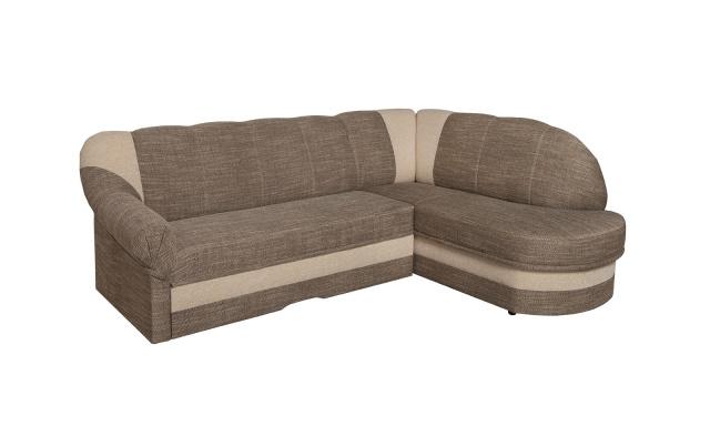 Elegantná sedacia súprava Simona, hnedá