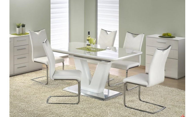 Luxusné rozkladací jedálenský stôl H571