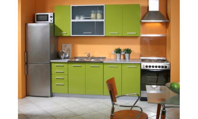 Luxusné kuchynská linka Platinum B, vysoký lesk!